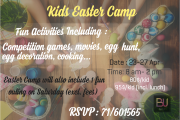 Kids Easter Camp at BU
