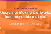 Upcycling Workshop at S17 by I Have Learned Academy