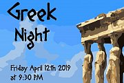 Greek Night at Blue Vinyl