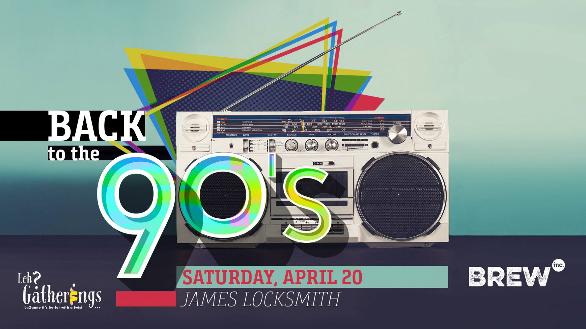 Back to the 90s at Brew Inc  « Lebtivity