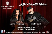 Jose Fernandez & Said Mrad at Casino Du Liban