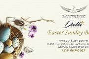 Easter Sunday Buffet at Villa Paradiso