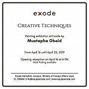Creative Techniques | Solo Exhibition by Mustapha Obeid