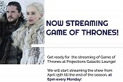 Game of Thrones Premiere in Lebanon at Projections Lounge