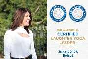 Certified Laughter Yoga Leader