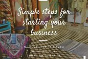 "Workshop on ""SIMPLE STEPS FOR STARTING YOUR BUSINESS"""
