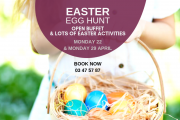 Easter Egg Hunt at Les Ateliers de Tyr