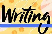 Stop Worrying! Start Writing