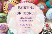 Painting on Stones at Alwan Salma