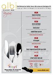 Gastronomic diner for AL MAJAL