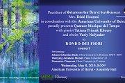 RONDO DEI FIORI Concert