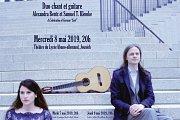 Duo Chant et Guitare: Alexandra Bentz et Samuel T. Klemke
