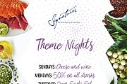 Theme Nights at Signatures