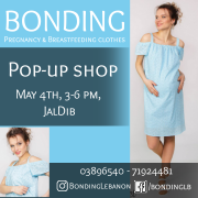 Bonding Pregnancy and Breastfeeding Clothes Open House