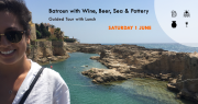 Batroun with Wine, Beer, Sea & Pottery with Living Lebanon