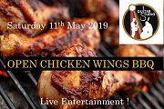 Open Chicken Wings Bbq