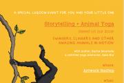 Storytelling & Animal Yoga with Luqoom