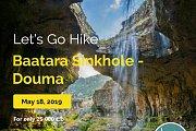 Let's Go Hike In Baatara Sinkhole - Douma with Let's Go