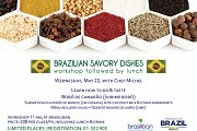 Brazilian Gastronomy Workshop Followed by Lunch