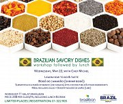 Brazilian Gastronomy Workshop Followed by Lunch