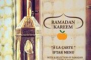 Ramadan Iftar at Mandarine Restaurant