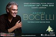 Andrea Bocelli - Part of Cedars International Festival 2019