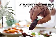 Iftar Buffet at Au Gros Sel by the Pool