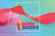 Art Corner Open Doors