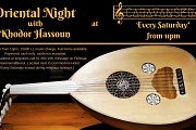 Oriental Night with Khodor Hassoun - Every Saturday!