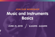 Music & Instruments Basics Workshop at S17 powered by I Have Learned Academy