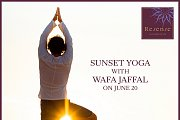 RESENSE SPA - Unique Sunset Yoga Session with the One and Only Wafa Jaffal