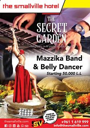 Mazzika Band and Belly Dancer