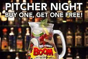 Pitcher Night at The Redstreet Boom