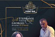 Stephanie Fikany & Georges Hajjar at Le Petit Piano Bar