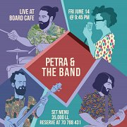 Petra and the Band Live @Board Cafe