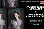 NY Jazz Vocalist JD Walter with the Makram Aboul Hosn Trio