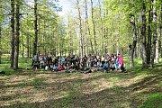 Hiking new trail in Qamou3a to Ghabet El-3othor with Footprints Club