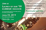 Chabrouh Eco Farm- Launch of our '19 Summer Season
