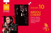 Abdou Cherif Sings Abdel Halim Hafez- Part of Beiteddine Art Festival 2019