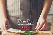 Farm Fair Women Edition