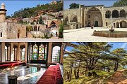 Deir el Qamar, Beiteddine Palace & Shouf Cedars with Zingy Ride