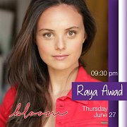 Raya Awad live @bloom
