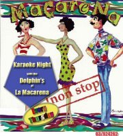 Karaoke at LA MACARENA every Thursday