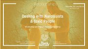 Dealing with Narcissists & Toxic People - Workshop at I Have Learned Academy