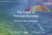The Power of Personal Branding Workshop at I Have Learned Academy