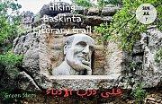 Hiking Baskinta Literary Trail with Green Steps