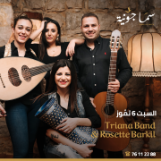 Triana Band & Rosette Barkil at Sama Jounieh