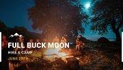Full Buck Moon with Moon Monkey