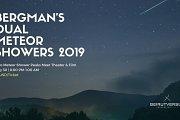 Bergman's Dual Meteor Showers 2019
