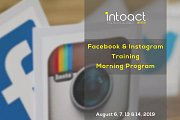 Facebook & Instagram Training - Morning Program By Intoact